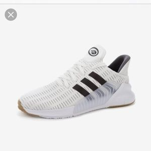 Adidas climacool white sneakers size 10 mens